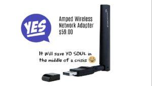 amped wireless usb adapter