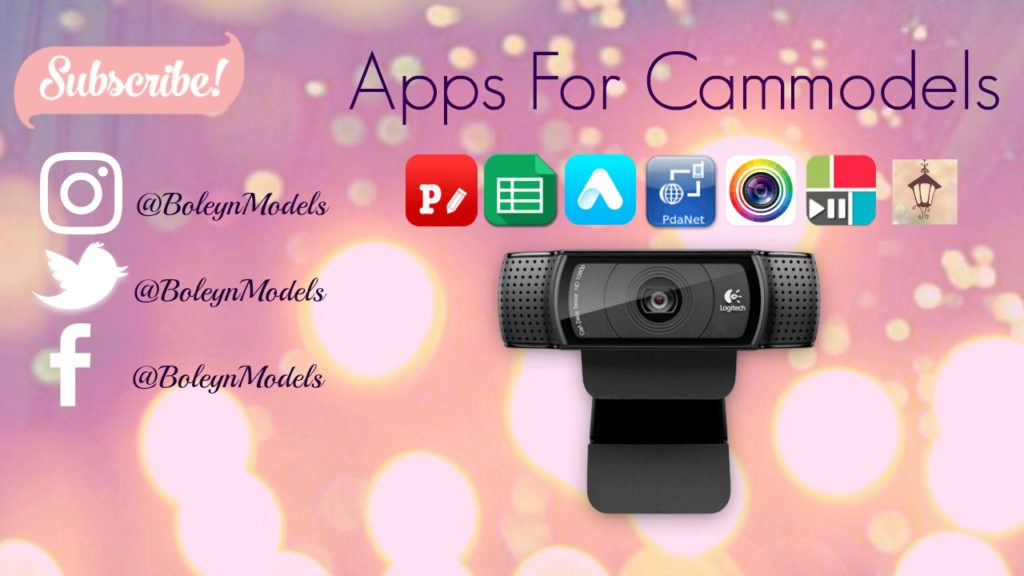 apps for cammodels
