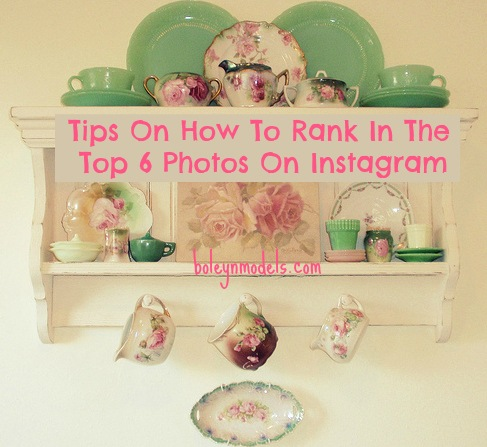 how to rank in the top 6 on instagram