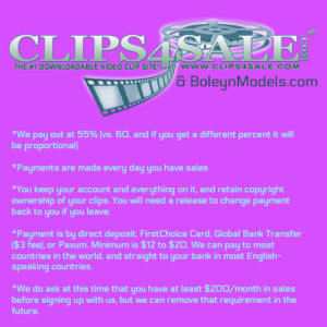 clips4sale daily pay boleynmodels
