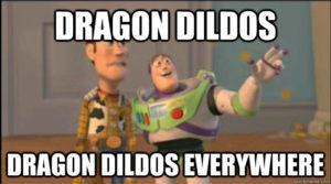 dragon dildo