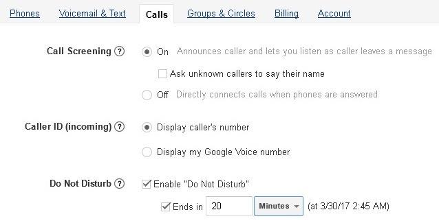 google voice phone sex