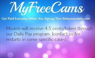 myfreecams boleynmodels daily pay