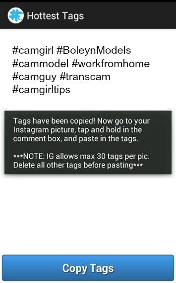 tagsforlikes app for cammodels