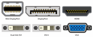 display connector port
