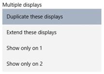 setup multiple monitors