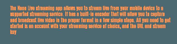 neon live streamate