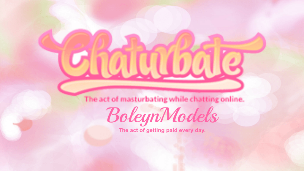 chaturbate daily pay with boleynmodels