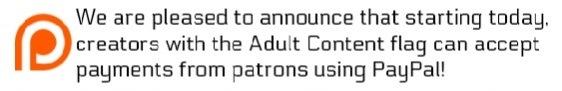 patreon bans adult content