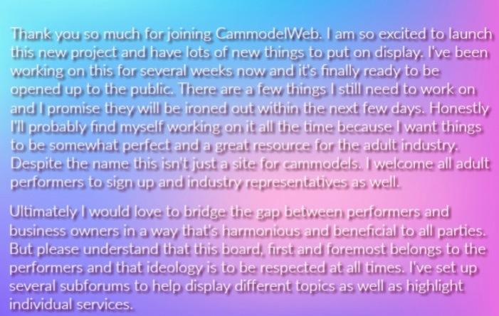 camgirl forum