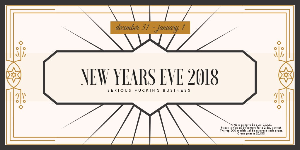 streamate new years contest