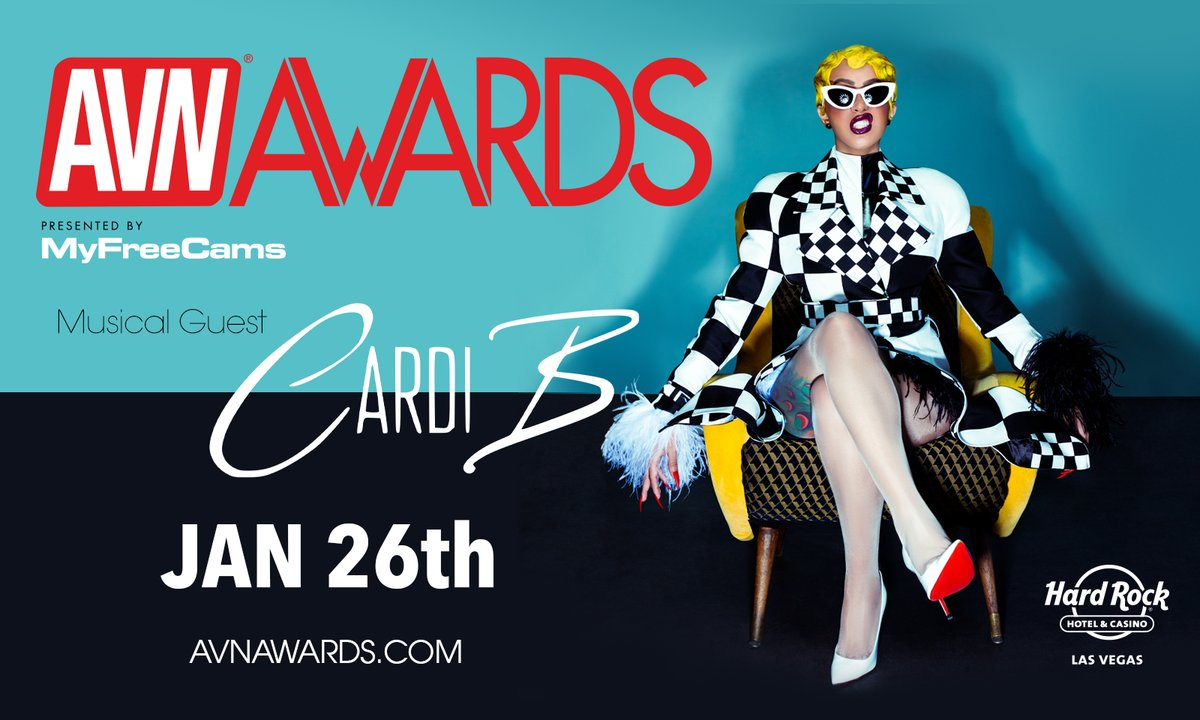 avn awards cardi b
