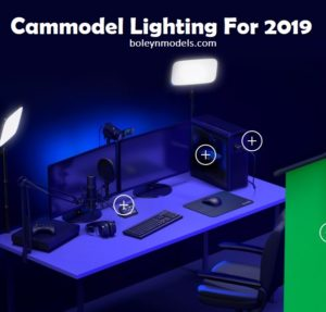 cammodel lighting tips