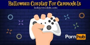 halloween cosplay cammodels