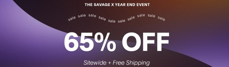 savage fenty year end sale