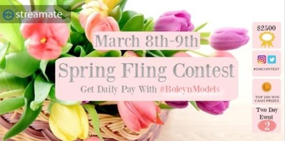 streamate spring fling contest