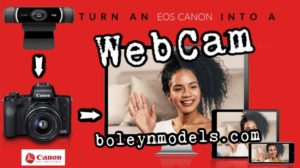 turn canon eos into webcam