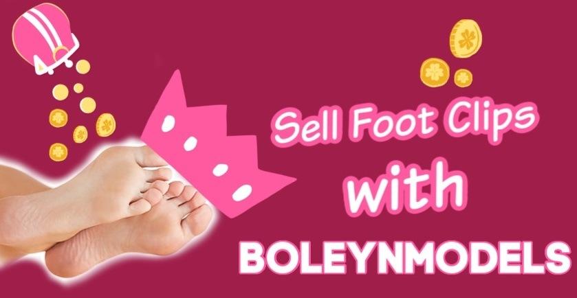 sell foot clips boleynmodels