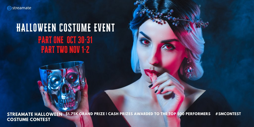streamate halloween contest