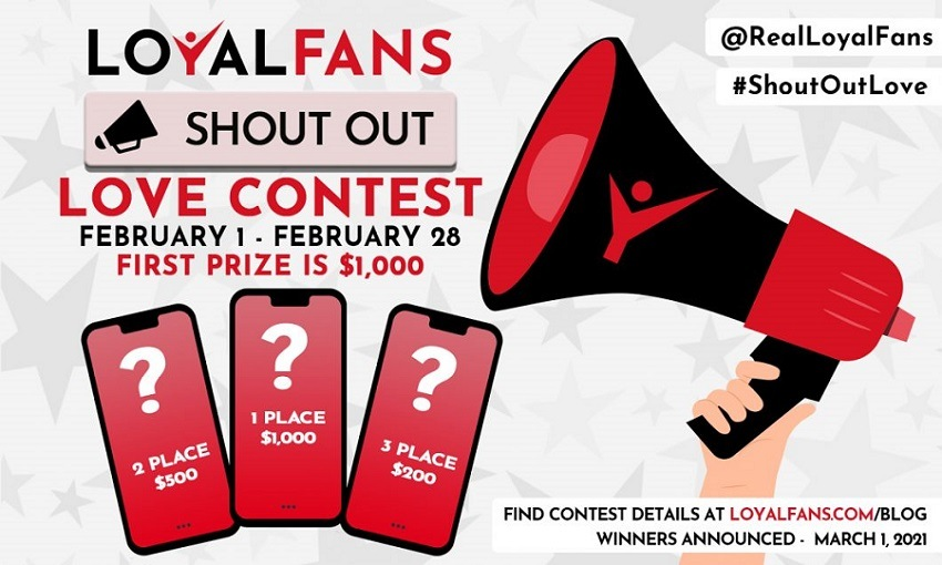 loyalfans shoutoutlove contest