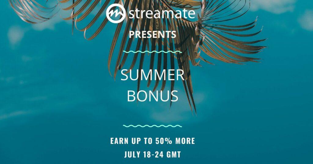 Streamate Bonus Week